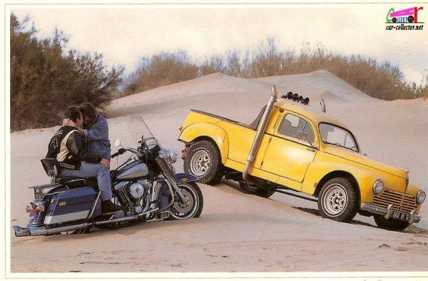 carte-postale-peugeot-203-pickup