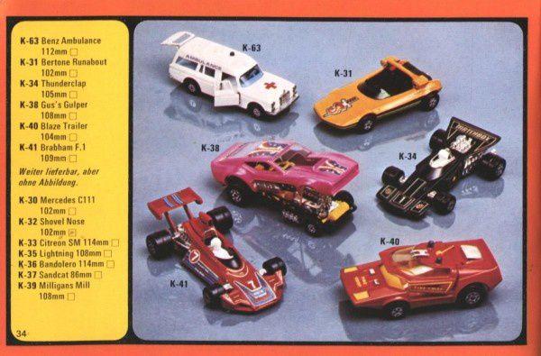 catalogue matchbox 1977 p34