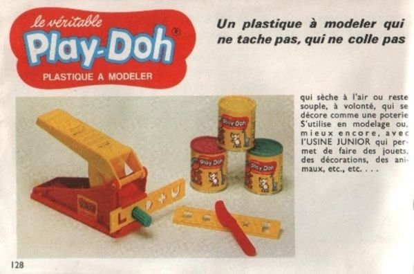 catalogue dinky toys 1968 p128 pate a modeler play-doh