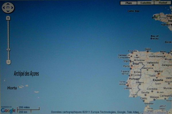 GOOGLE MAPS SATELITE ACORES