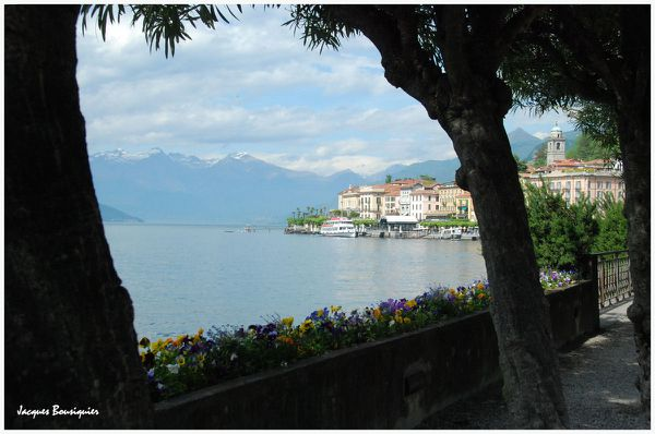 Bellagio Lac de Come Italie 7