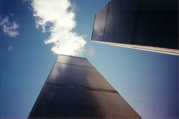 New York City TWIN TOWER april 1995