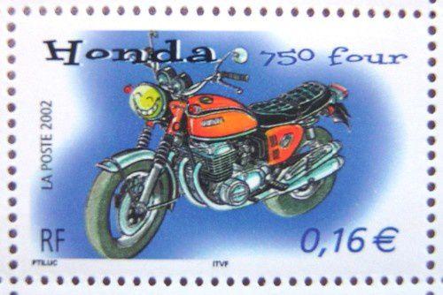 honda 750 four timbre non oblitere