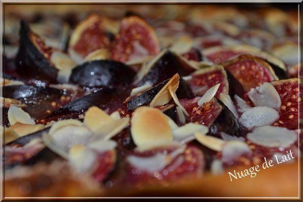 tarte fine aux figues amandes