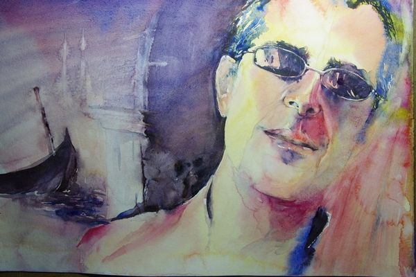 aquarelle portrait jj 1