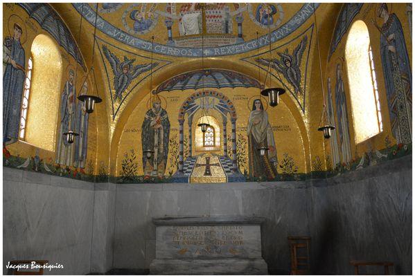 Mont Ste Odile Couvent Abbaye Hohenbourg Chapelle des larme
