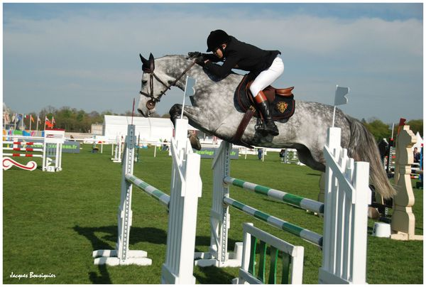 Guillaume Canet Jumping Chantilly 20 avril 2013 l