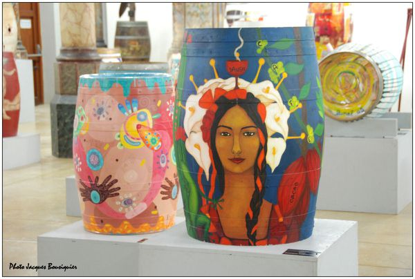 Art en barrique Montpellier Carre Ste Anne 03