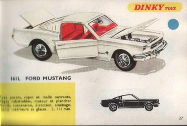 catalogue dinky toys 1968 p027 ford mustang