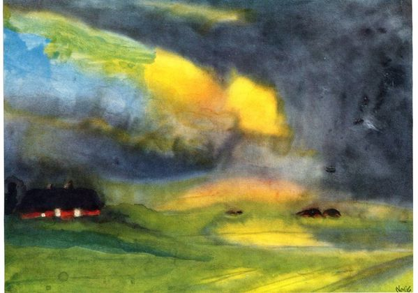 Emile-Nolde---Colored-sky-above-the-Marais--1940.jpg