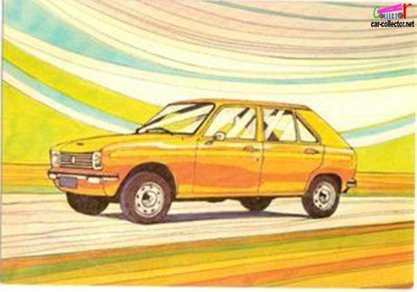 carte-postale-peugeot-104-1972-cpa-peugeot-cpm-peugeot