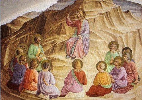 Sermon sur la montagne Fra Angelico