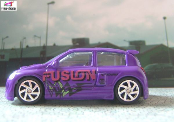 renault clio sport extreme tuners tampos fusion