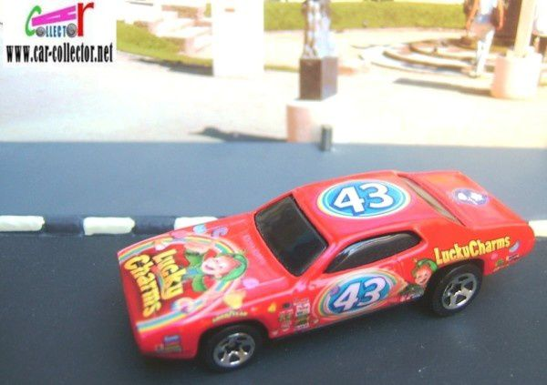 71 plymouth gtx promo cereal genenal mills 2004