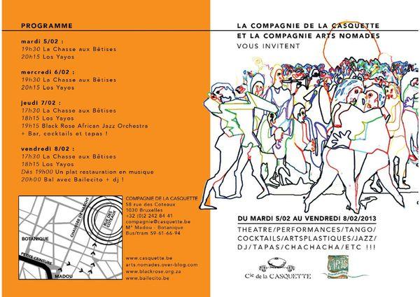 flyer la casquette et arts nomades février 2012