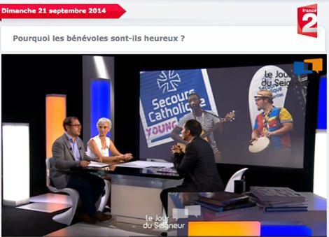 Secours Catholique france 2 2