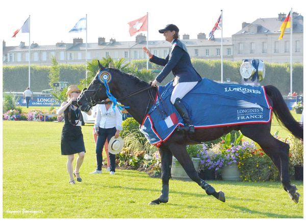 The winner Chantilly Global Champions Tour 2013