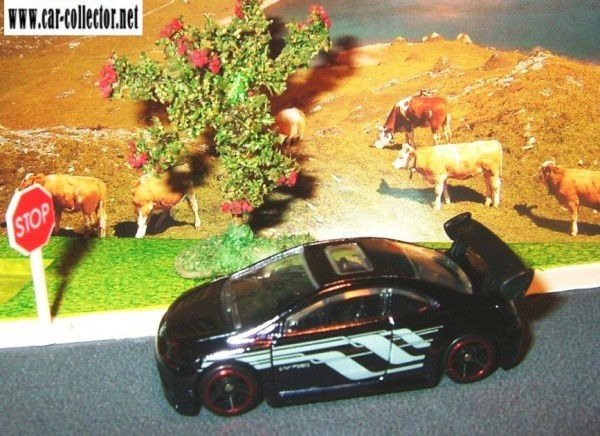 honda civic si coupe modern classics hot wheels 2008