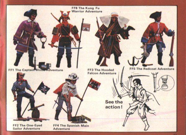 catalogue matchbox 1975 p43 figurines captain kung fu