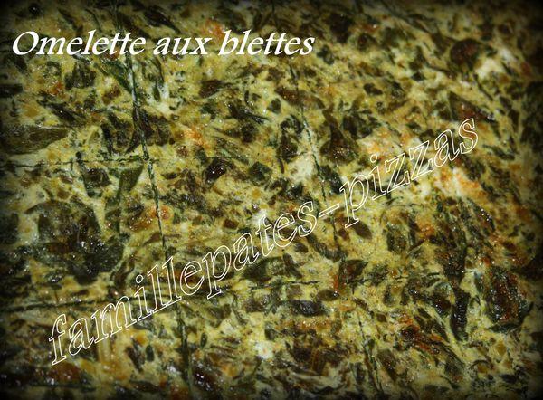 omelette blettes