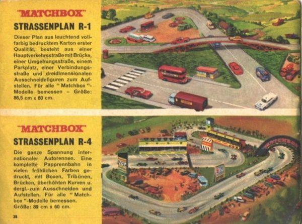 catalogue matchbox 1967 p38