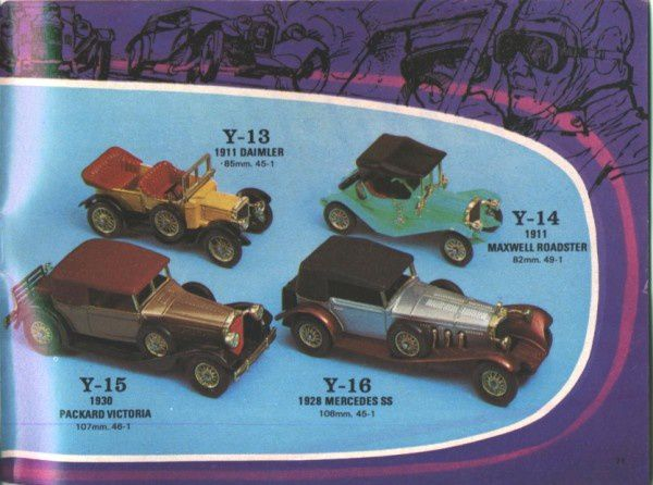 catalogue matchbox 1972-1973 p71 mercedes ss 1928