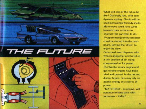catalogue matchbox 1970 p63 the future