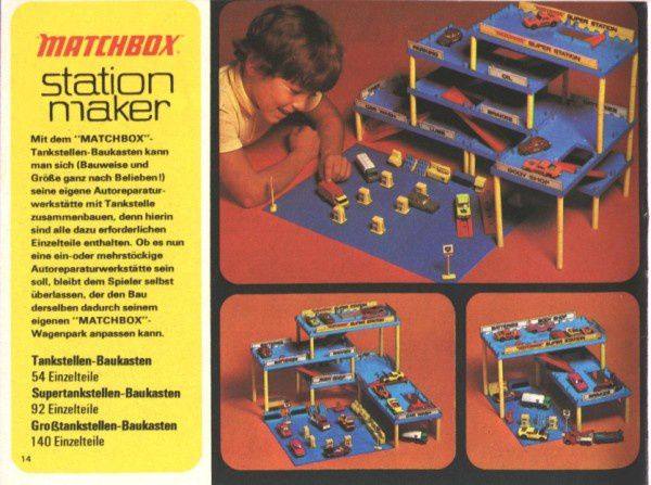 catalogue matchbox 1972-1973 p14 station maker