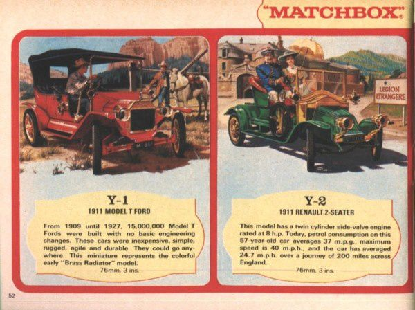 catalogue matchbox 1970 p52