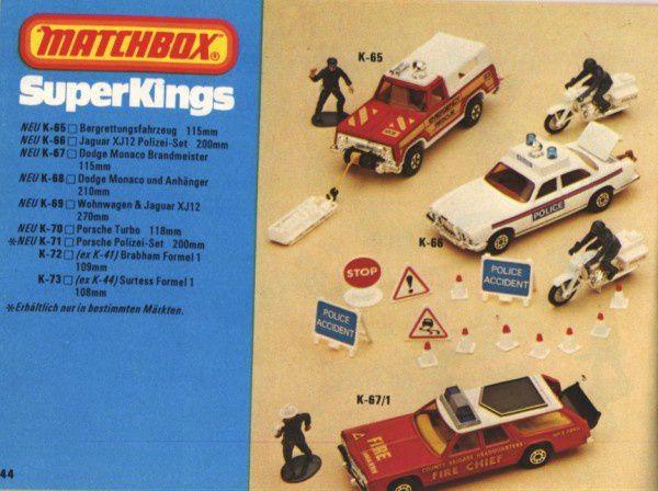 catalogue matchbox 1979.1980 p44 dodge monaco jaguar xj12