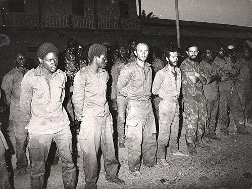 Bataille en Angola