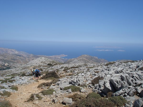 Ascension du Mont Zeus (1001 m) sur l'île de Naxos : un panorama splendide 31