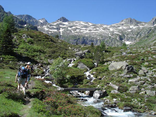 Randonnée Pyrénées : Les lacs de Liantran (1824 m) 24