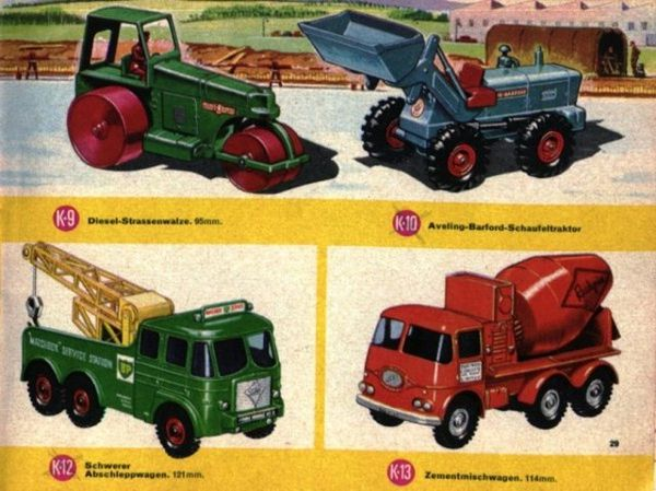 catalogue matchbox 1967 p29