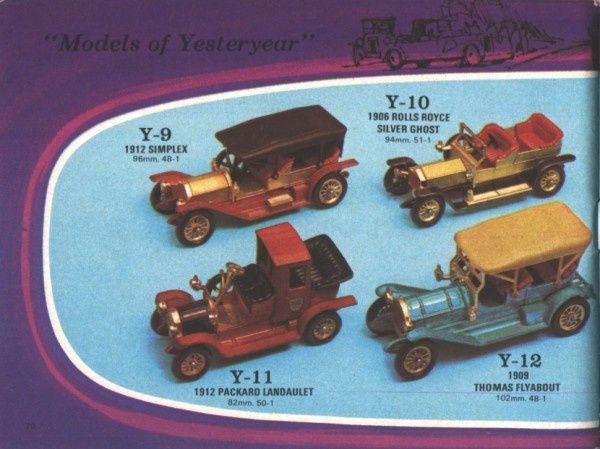 catalogue matchbox 1972-1973 p70