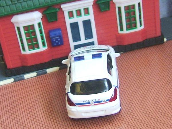 peugeot 308 police jet car norev