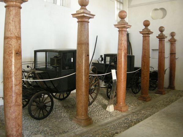 Villa manin, museo carrozze 01