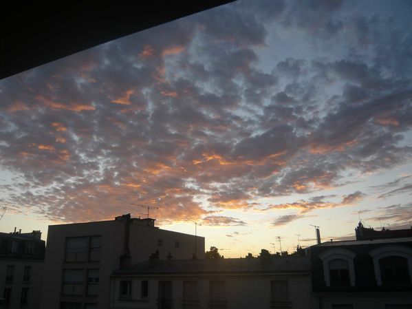 nuages matin