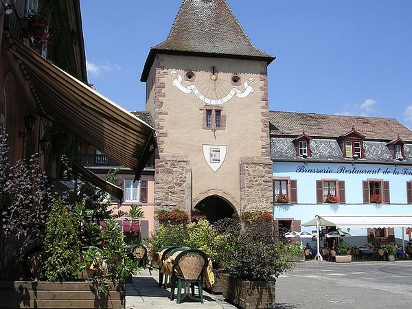 Turckheim la porte basse