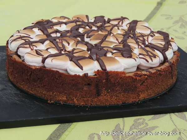 chocolate cheesecake s'mores (1)