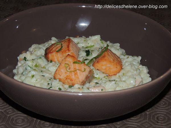 risotto de saumon au citron vert (1)