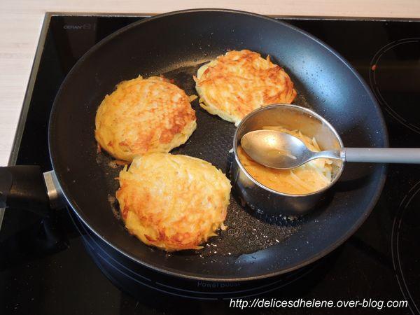 galette de pommes de terre au jambon (2)