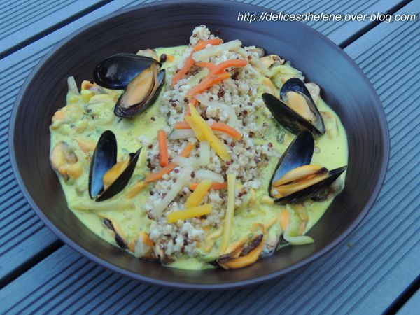 moules au curry et quinoa (1)