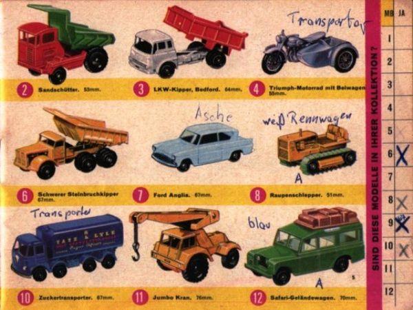 catalogue matchbox 1967 p05