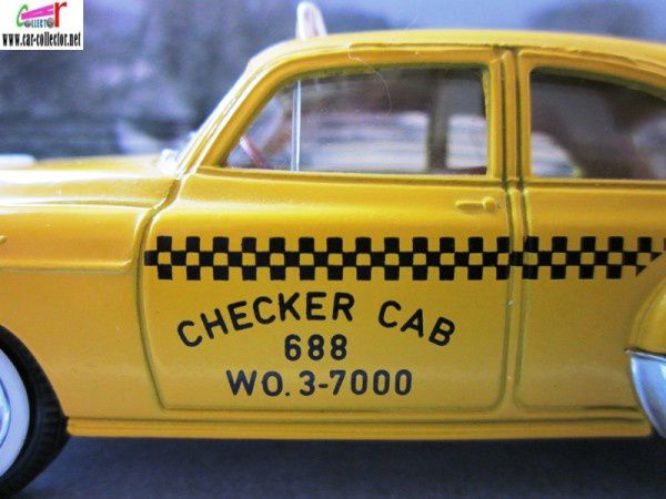 chevrolet sedan 1950 taxi solido checker cab (1)