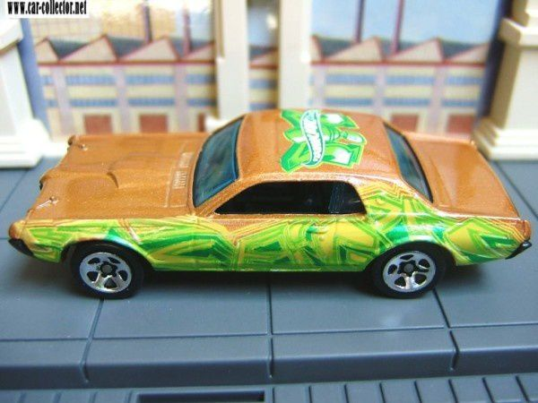 68 cougar ford mercury hot wheels tag rides