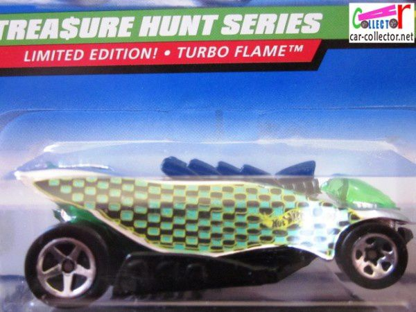 turbo flame thunt collector 753 voiture futuriste