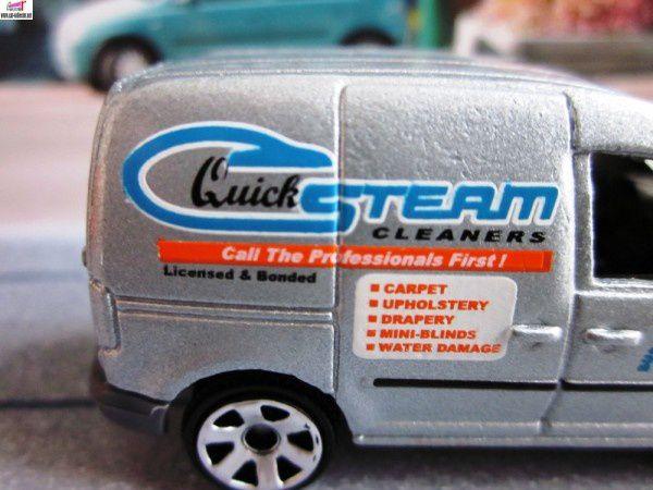 volkswagen caddy steam matchbox vw caddie