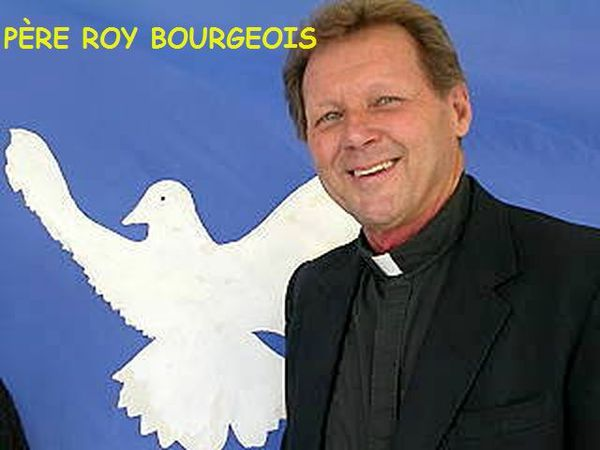 roy with dove behind him