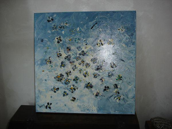 pensée (acrylique 50x50)